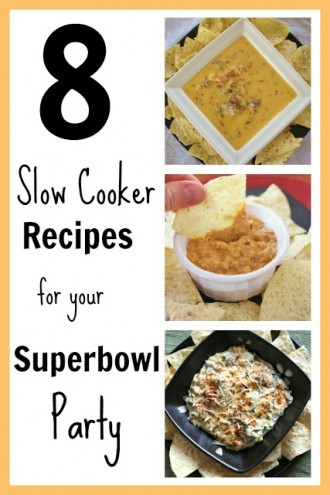 8 Slow Cooker Recipe Ideas for your Superbowl Party