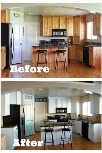 New Carpet and Backsplash Reveal!  (and a Review of Buy Direct in Layton, Utah)