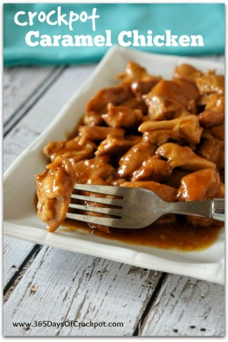 CrockPot Caramel Chicken Recipe (and how I feel about stinky boys)