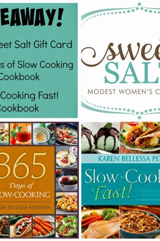 Fun Friday Giveaway ($50 gift card plus my 2 cookbooks)
