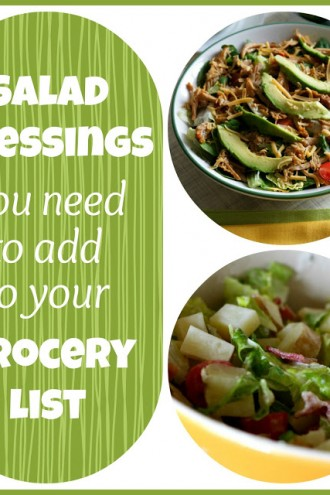 4 Salad Dressings/Dips That You Need to Add to Your Grocery List