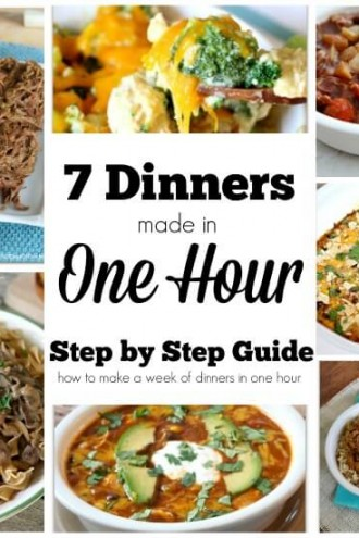 Crockpot Freezer Meals–Step by Step Guide on How to Make 7 Meals in One Hour!