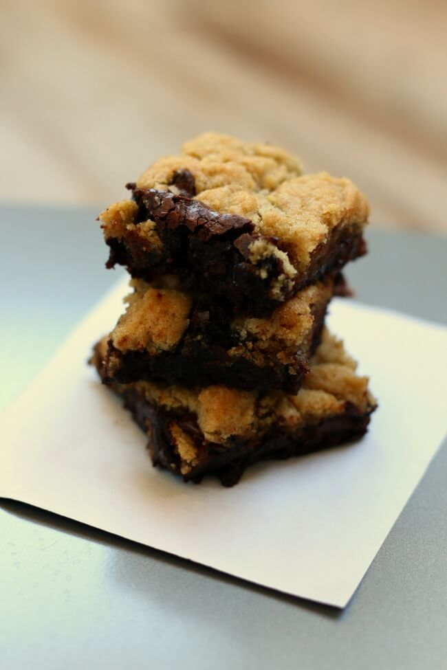 Recipe gluten free for chocolate chip cookie brownies