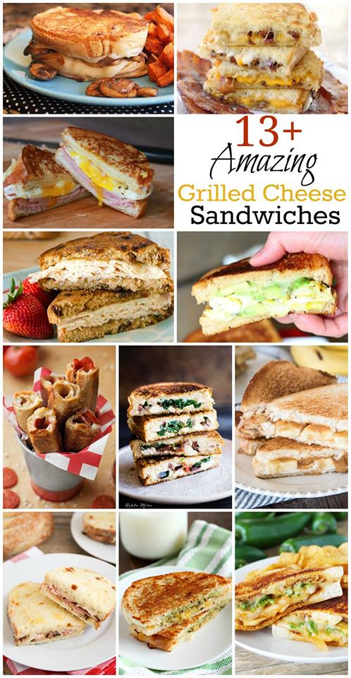 grilled cheese sandwich recipe ideas