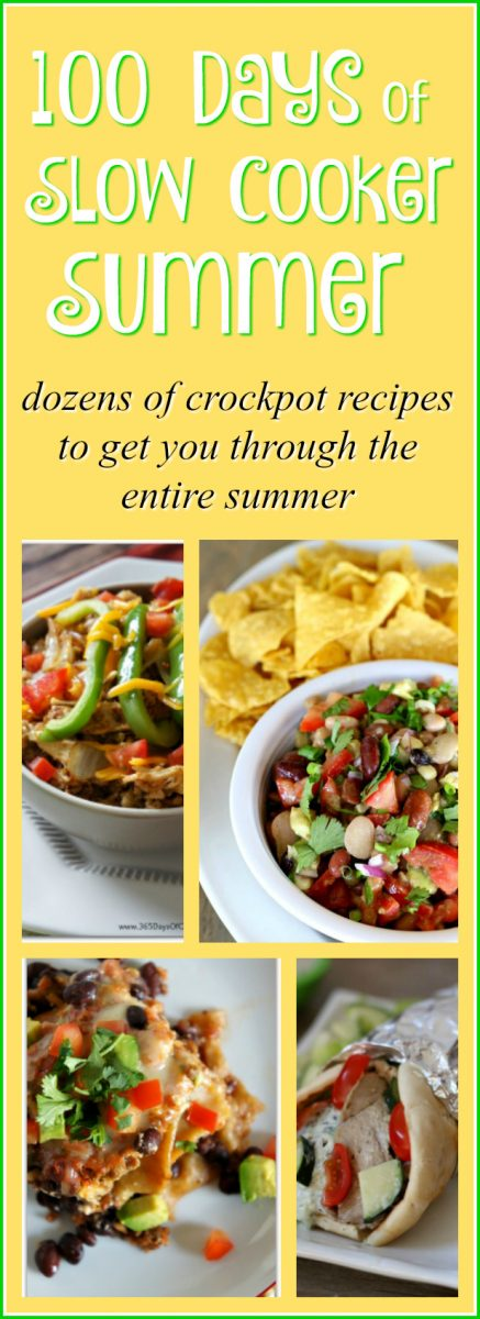 00 days of slow cooker summer. Dozens of slow cooker recipes to get you through the entire summer.