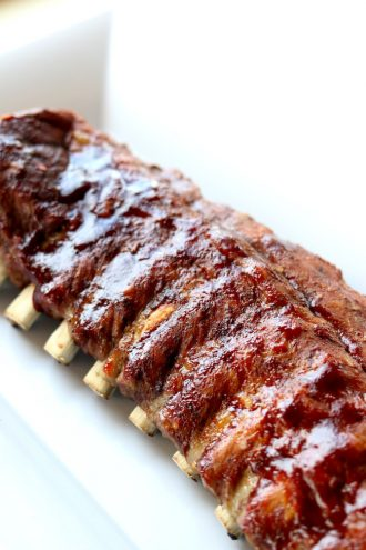 Instant Pot/Slow Cooker St Louis Style Ribs