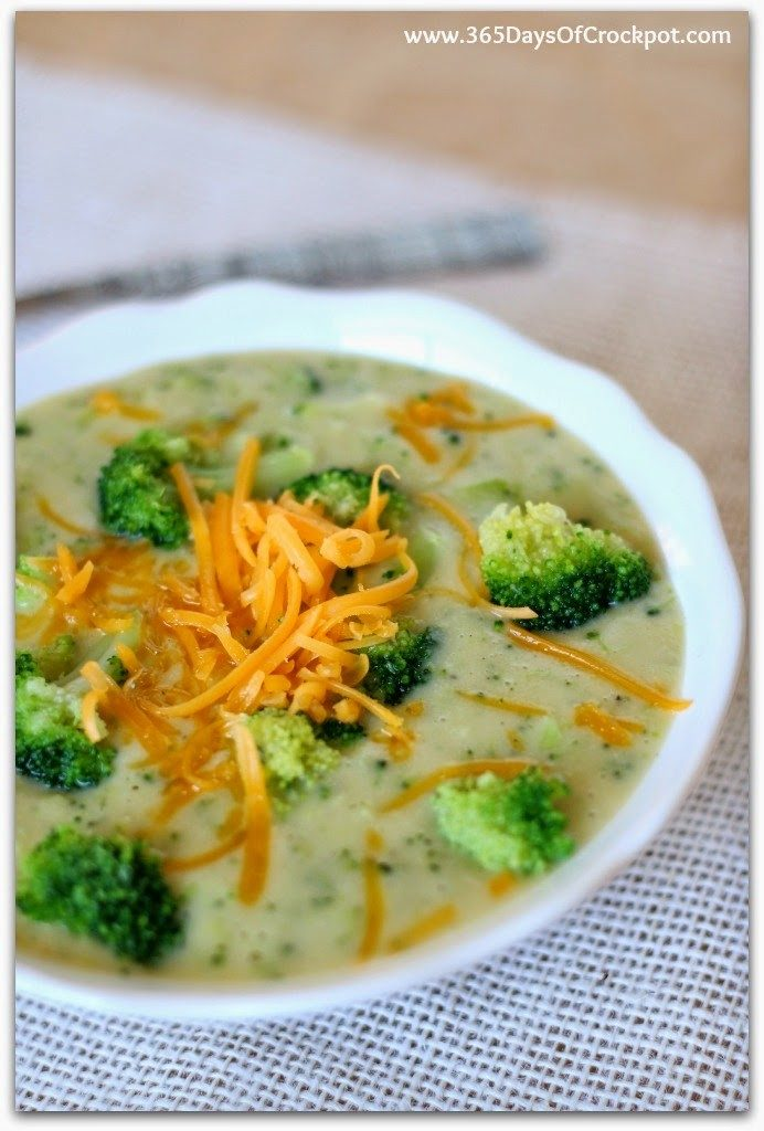 Instant Pot Skinny Broccoli Cheddar Soup--ahealthier version of a very popular soup. Because the base of the soup is made of yellow potatoes instead of butter, flour and cream this soup is gluten free and lighter than it's original counterpart.