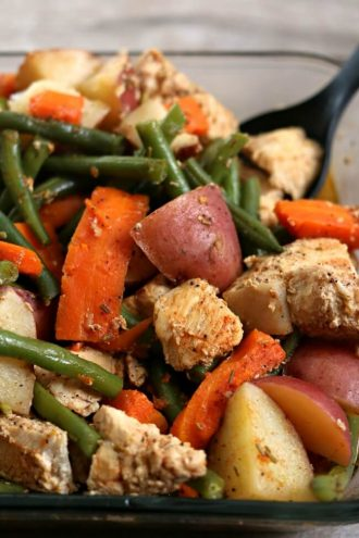 Instant Pot Homestyle Chicken and Vegetables