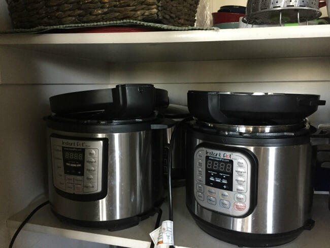 how to store your instant pot