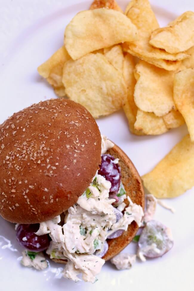 Chicken Salad Sandwich: top 25 American Instant Pot recipes that you should try out soon