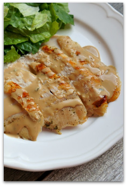 Instant Pot Bone-in Turkey Breast--Making a turkey breast in the Instant Pot couldn't be easier! This recipe has just 3 main ingredients and can be cooked from start to finish in less than an hour. Plus you can make gravy with the drippings.