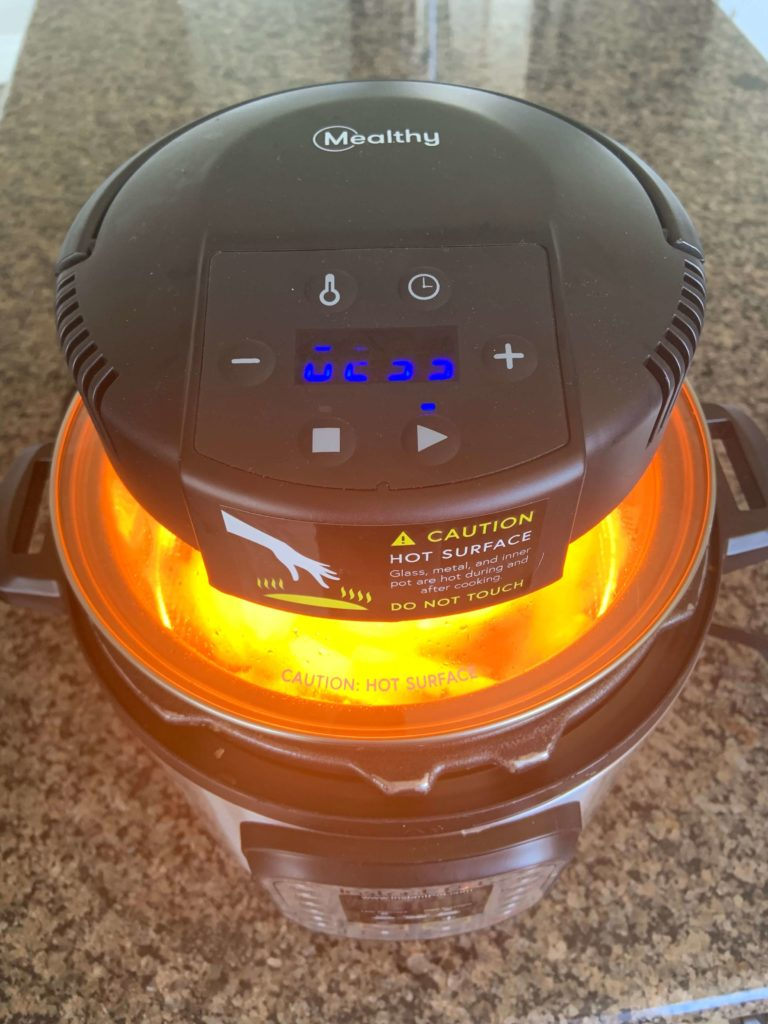 Want to turn your Instant Pot into an air fryer? There is a new product on the market called a CrispLid that might be right for you. I'll show you what it is, what it does, how to use it and what I think of it.
