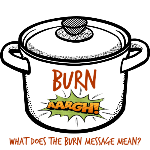 Have you ever gotten the Instant Pot burn warning? Confused on why? I'll explain why it happens and what to do about it.