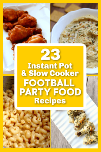 23 Instant Pot and Slow Cooker Football Party Recipes