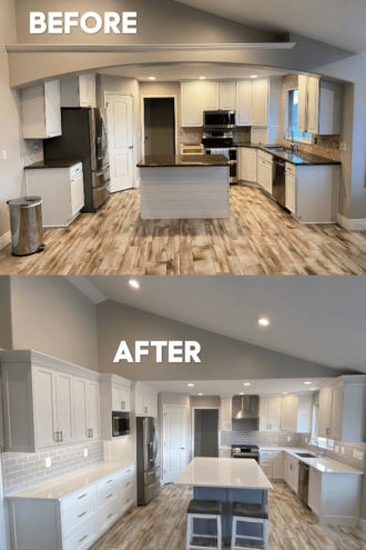 Kitchen Remodel–Before and After!
