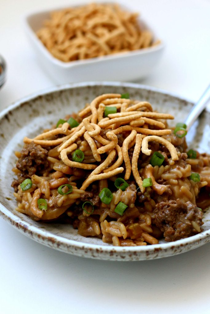 beef chow mein hot dish recipe