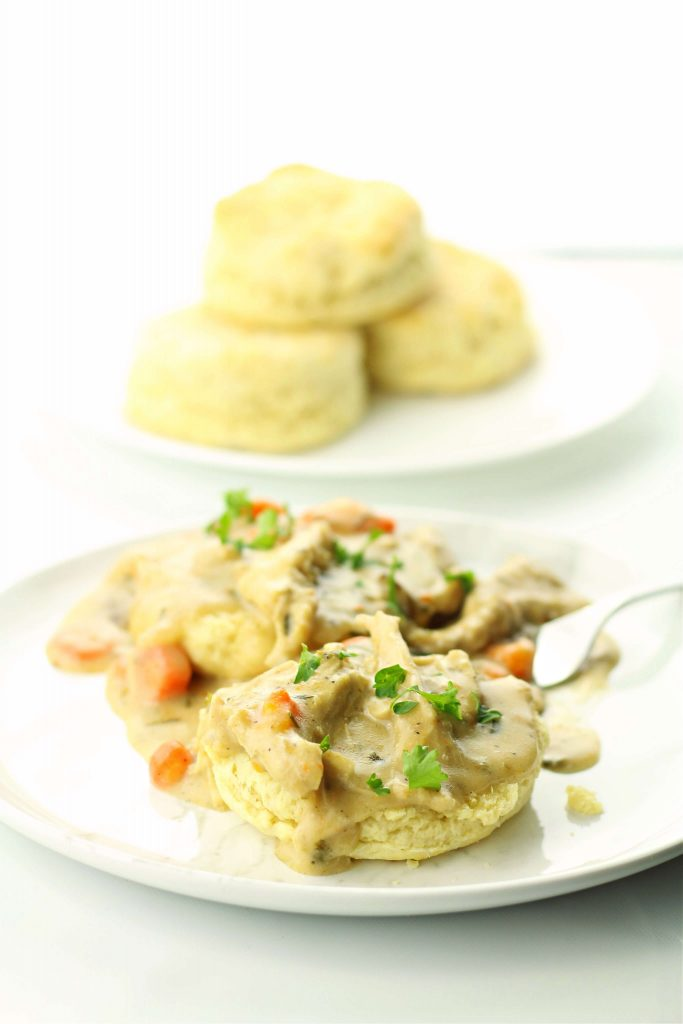Instant Pot Chicken and Biscuits