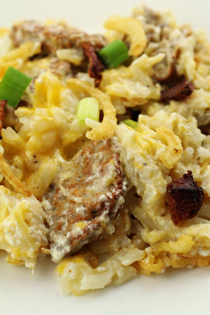 hashbrown and sausage casserole recipe