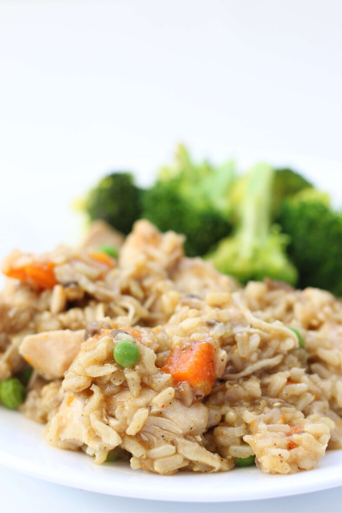 Instant Pot chicken and rice casserole