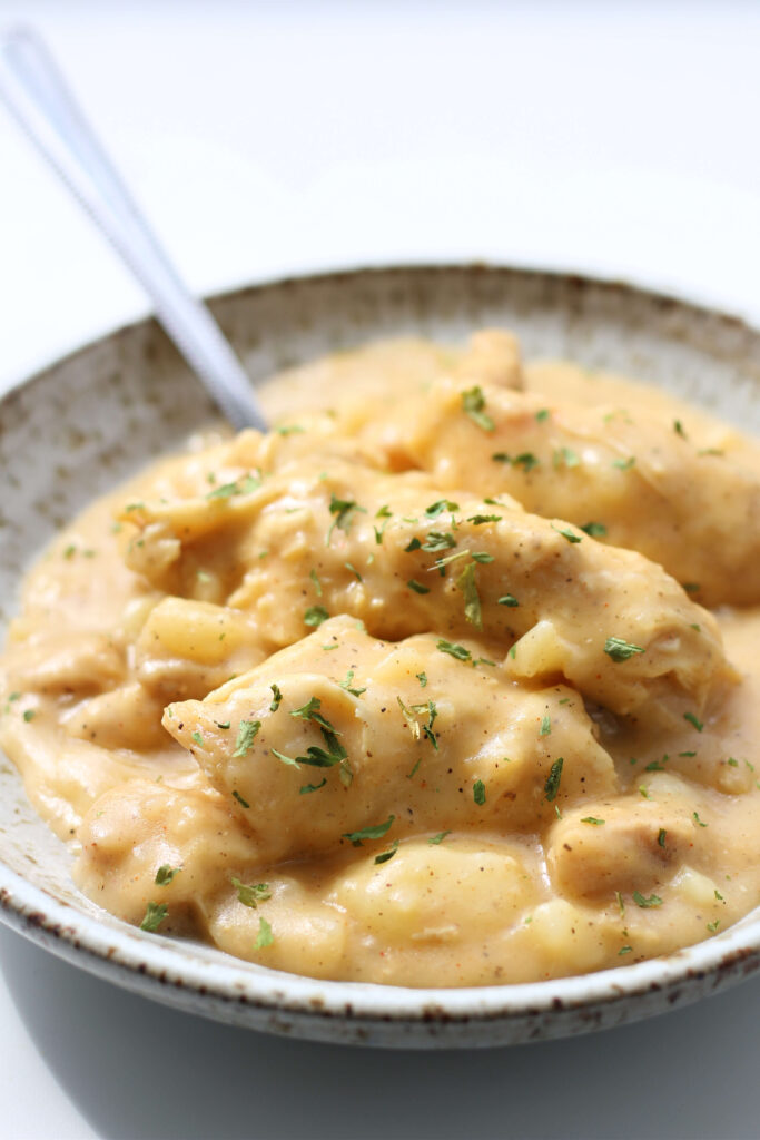 Instant Pot Cheesy Potatoes and Chicken